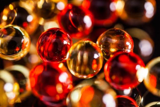 Scatter les capsules et les comprimés Photo Premium
