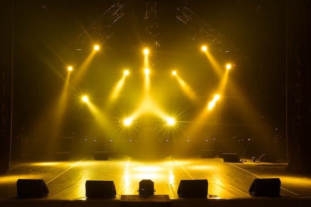 Scène libre avec lumières Photo Premium