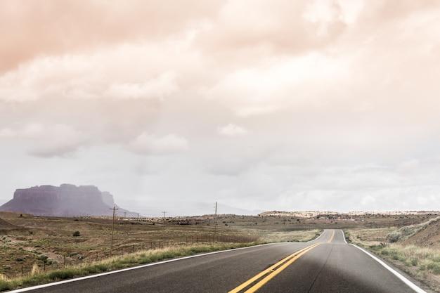 Scène De La Route Photo Premium