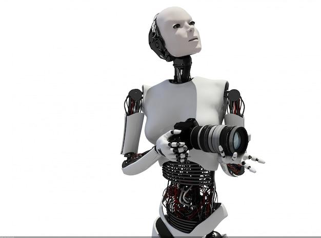 Science fiction humaine Photo Premium