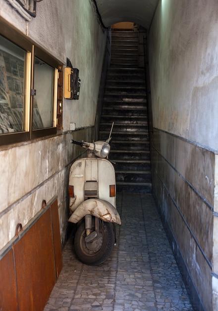Scooter italien vintage Photo Premium