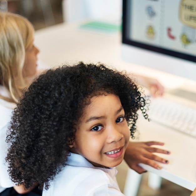 Séance d'éducation diversifiée Photo gratuit