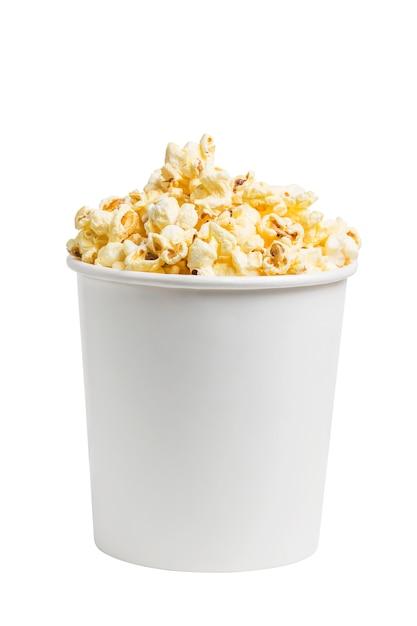 Un seau de pop-corn Photo gratuit
