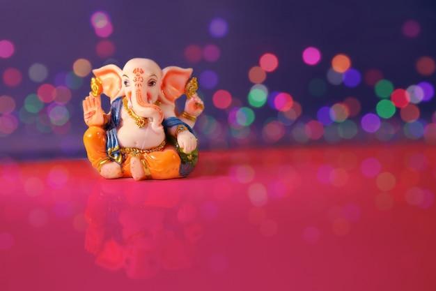 Seigneur ganesha, festival de ganesh Photo Premium