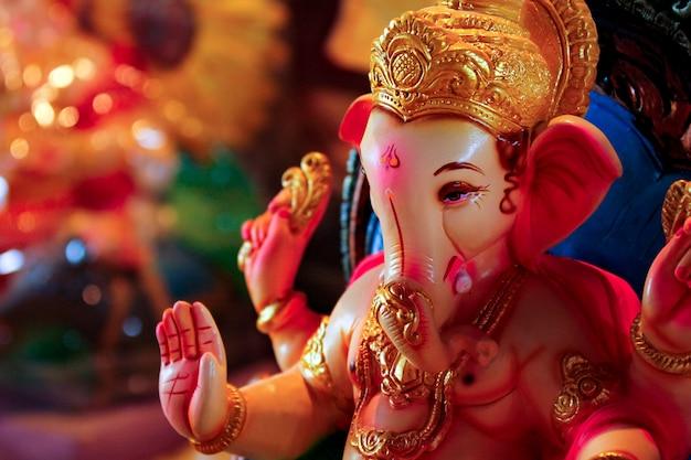 Seigneur ganesha, festival de ganesha Photo Premium
