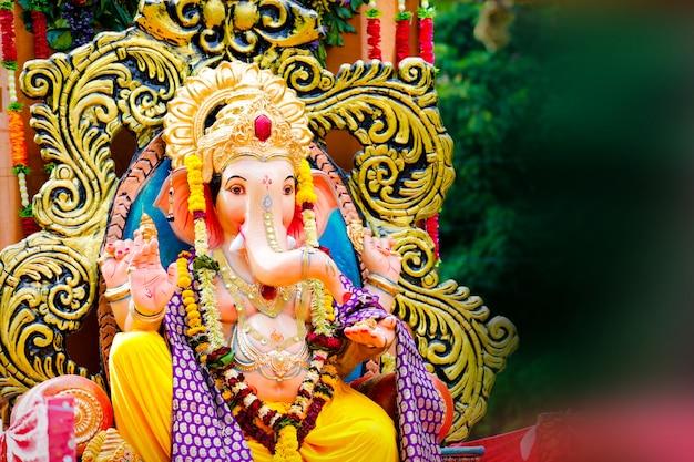 Seigneur ganesha, festival indien de ganesh Photo Premium
