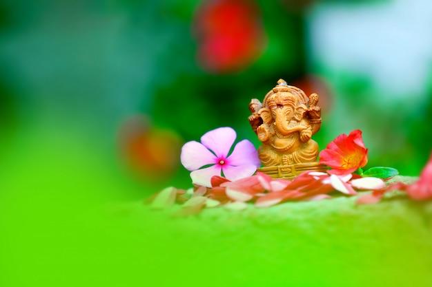 Seigneur ganesha ganesh festival Photo Premium