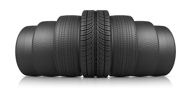 Les sept roues Photo Premium