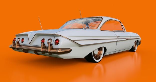 Set vieille voiture américaine en excellent état Photo Premium