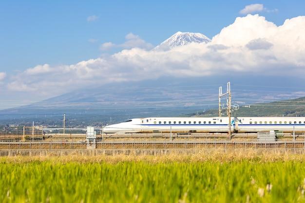 Shinkansen fuji Photo Premium