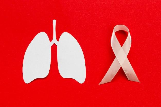 Signe De La Médecine Avec La Forme Des Poumons Photo gratuit