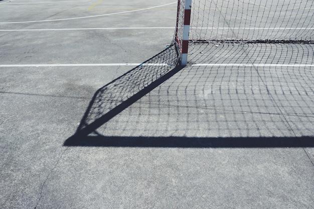 Silhouette d'ombre football football sport Photo Premium