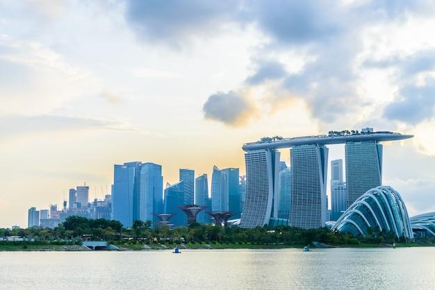 Singapour Vue Architecture Urbaine Front De Mer Photo gratuit
