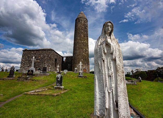Site Monastique De Glendalough, Derrybawn Dans Le Comté De Mayo, République D'irlande Photo gratuit