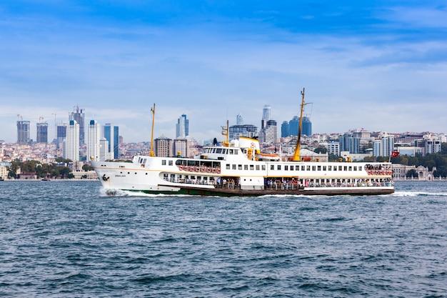 Skyline d'istanbul Photo Premium