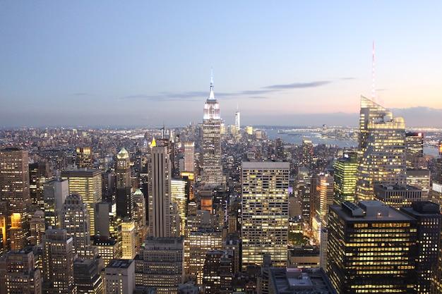 Skyline de new york Photo gratuit