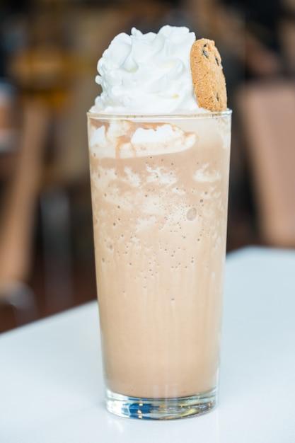 Smoothie café glacé Photo gratuit