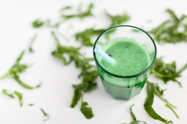 Smoothie vert frais Photo Premium