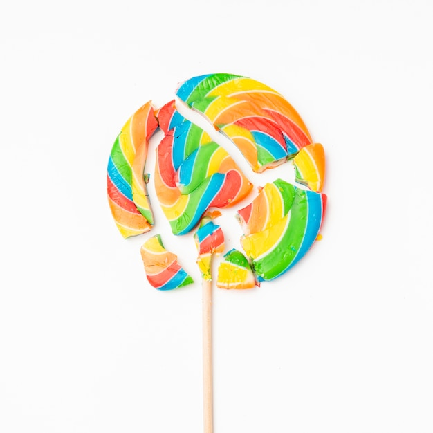 Smried délicieux bonbons sur la table Photo gratuit