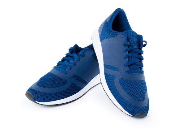 Sneakers Isolés Sur Blanc Photo Premium
