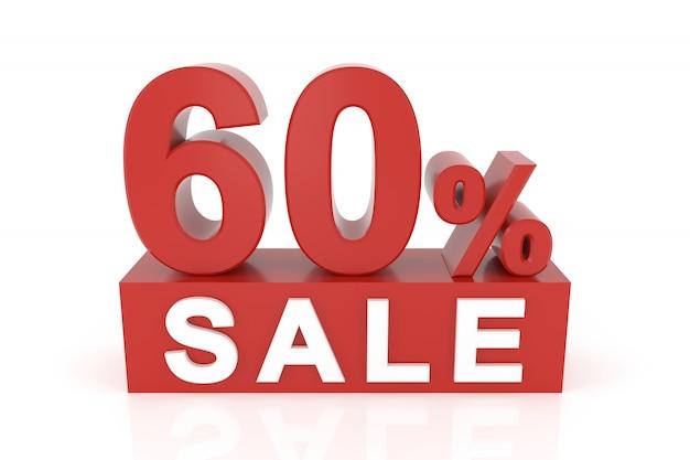 Soixante pour cent de vente Photo Premium