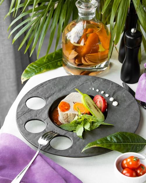Soupe De Poisson Aux Légumes Photo gratuit