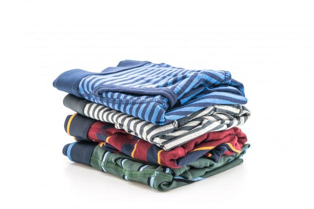 Sous-vêtements homme rayé Photo Premium