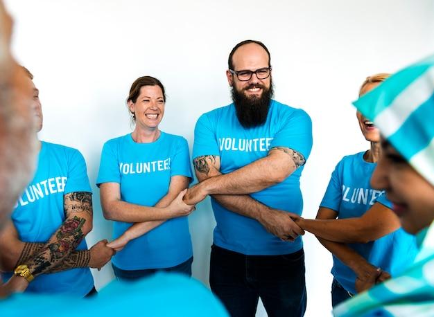 Soutien aux bénévoles des services communautaires Photo Premium