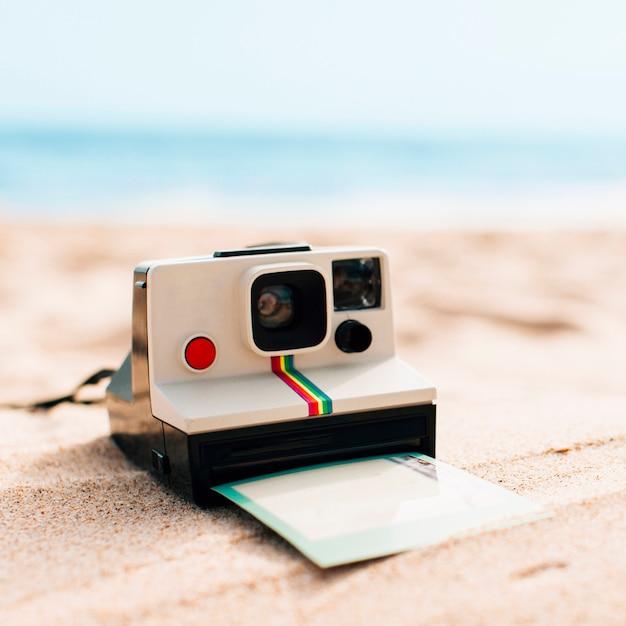 Souvenirs d'été à la plage Photo gratuit