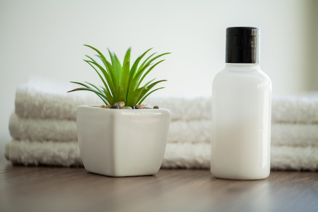 Spa relax et soins sains. Photo Premium