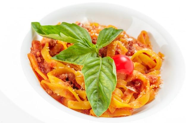 Spaghetti carbonara Photo Premium