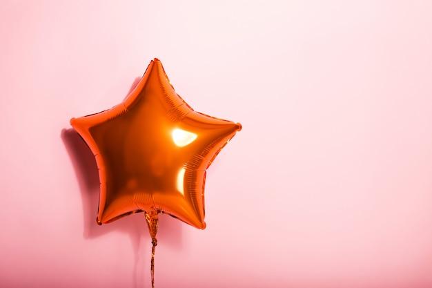 Sphère étoile rose Photo Premium