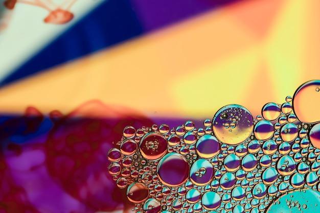 Spotlight couleurs avec des bulles Photo gratuit