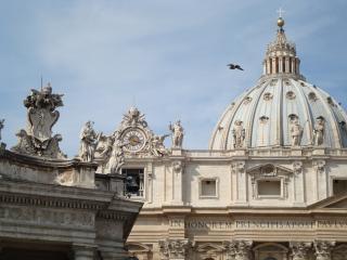 St peters basilica rome Photo gratuit