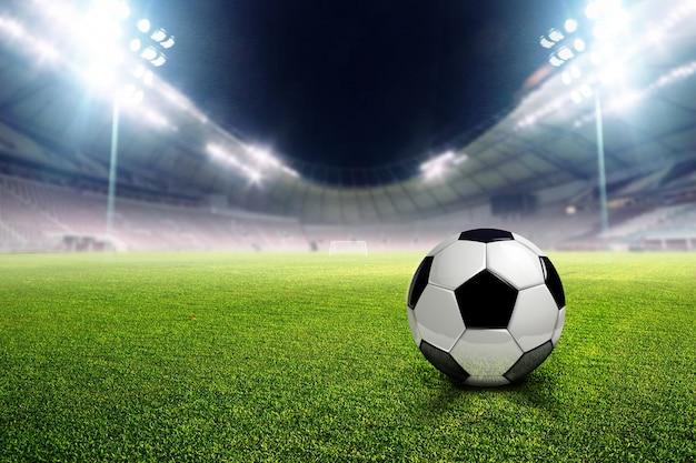 Stade de football Photo Premium