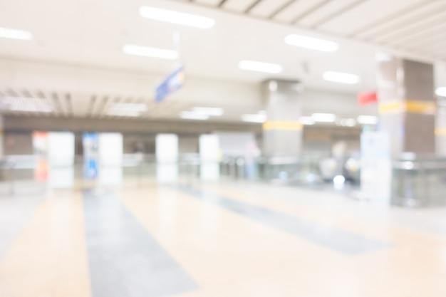 Station de métro flou abstrait Photo gratuit