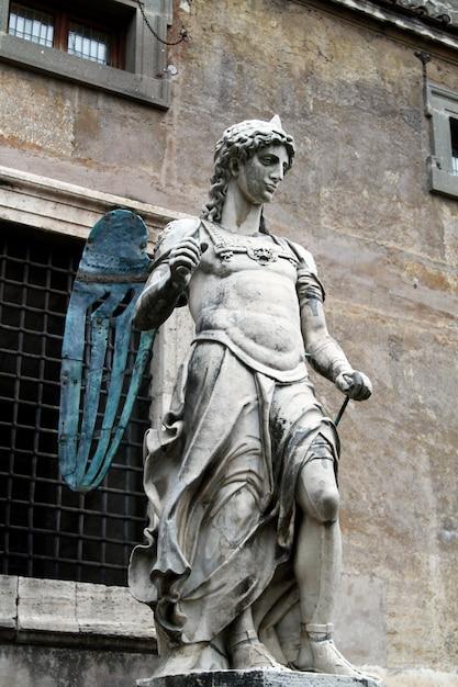 Statue ange bernini Photo Premium