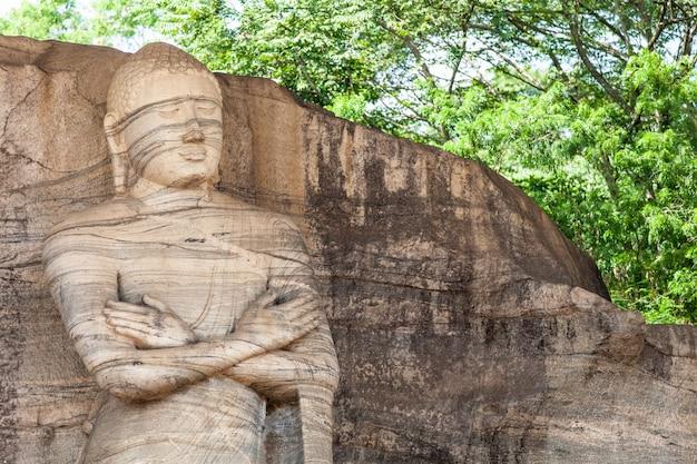 Statue de bouddha Photo Premium