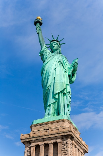 Statue de la liberté new york symbole américain usa Photo Premium