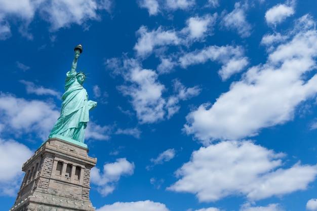 La statue de la liberté, new york, usa Photo Premium