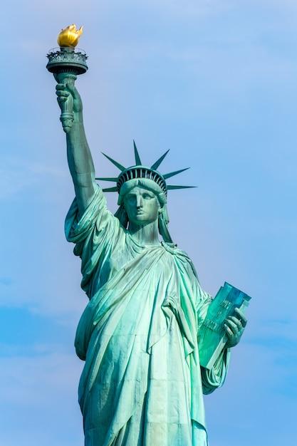 Statue de la liberté symbole américain new york usa Photo Premium