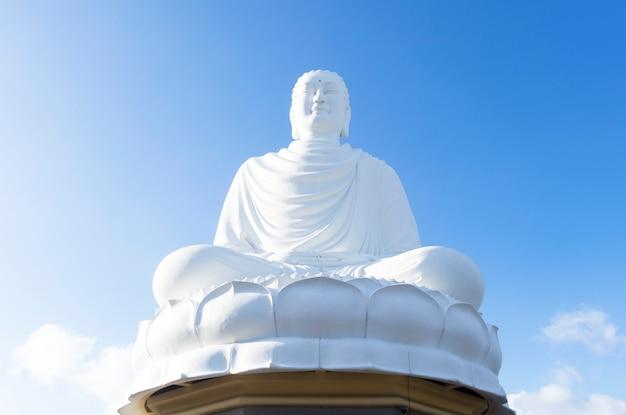 Statue, Un Monument à Bouddha Au Vietnam Photo Premium