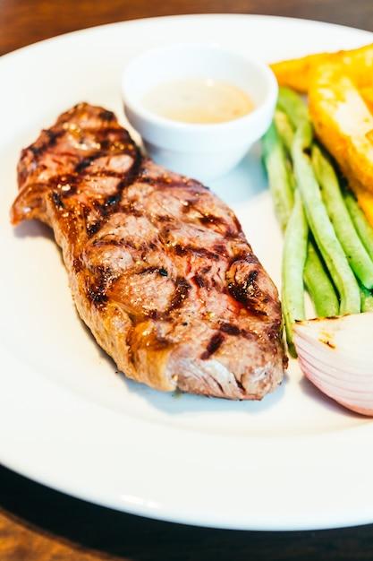 Steak de bœuf Photo gratuit