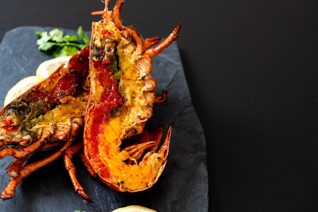 Steak De Homard Grillé Photo Premium