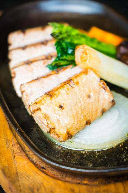 Steak de thon Photo gratuit