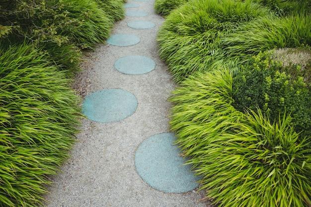 Stepping Chemin De Jardin En Pierre Telecharger Des Photos