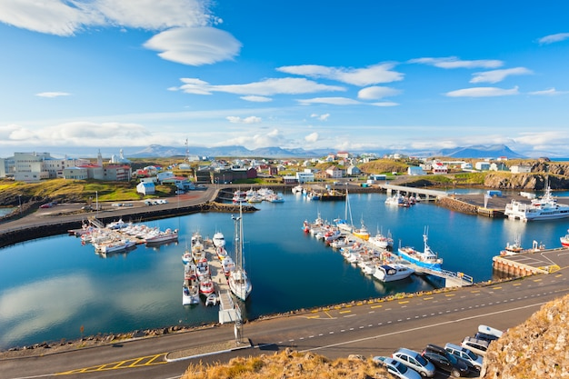 Stykkisholmur, la partie occidentale de l'islande Photo Premium