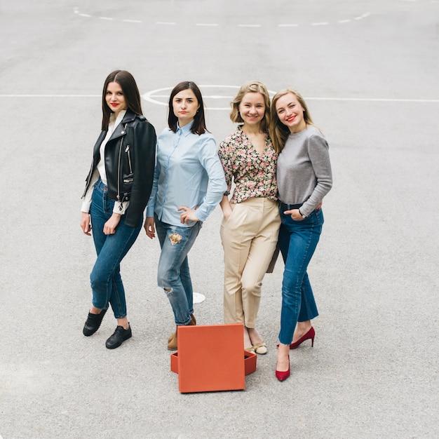 Style de la mode des filles Photo Premium