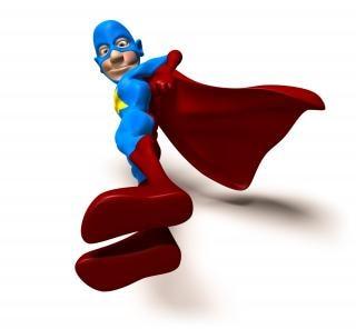 Super-héros, sourire Photo gratuit