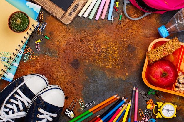 Suppléments pour la rentrée scolaire Photo Premium